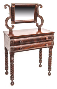 Federal Cherry Dressing Table