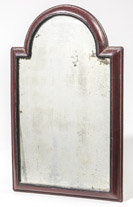 Period Queen Anne Painted Mirror