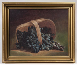 Oil Painting Still Life by E. Miller