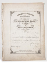 Henry Clay Sheet Music