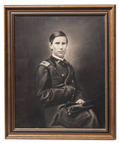 Civil War Union Officer's Portrait