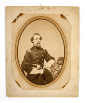 Albumen photo of Col. Charles L. Russell, KIA