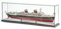 Hand Made Ships Model SS United States Liner