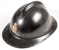 WWII French Police Helmet