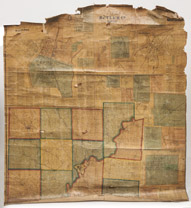 Titus 1868 Map of Butler Co. Ohio