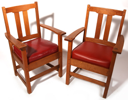 Pair of Limbert Armchairs