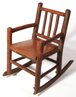 Old Hickory Childs Arm Rocker