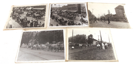 Ten Early Circus Parade Photos