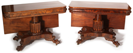 Pair of N.Y. Federal Banquet Tables