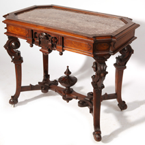 Thomas Brooks N.Y. Renaissance Walnut MT Table