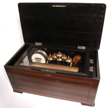 Swiss Orchestral Clinder Music Box