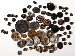 Large Lot of Antique Buttons