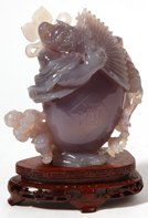 Carved Chinese Jade Figure