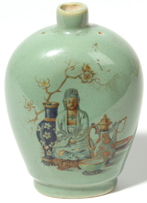 Chinese Porcelain Scent Bottle
