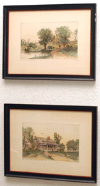 COLORED ETCHINGS