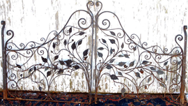 SMALL CAST IRON GATES
