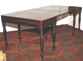 PAIR OF CHERRY BANQUET TABLES