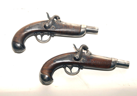EARLY PERCUSSION PISTOLS