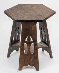 Stickley Bros. Arts & Crafts Oak Tabouret