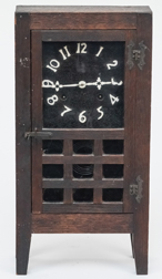 Oak Arts & Crafts New Haven Shelf Clock
