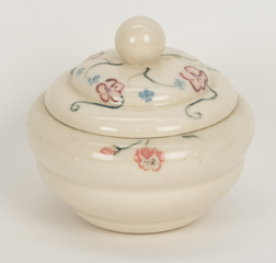 Rookwood Covered Sugar Bowl by Carolyn Stegner