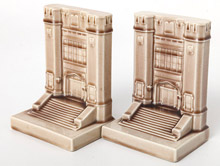 Rookwood Hebrew Union Bookends