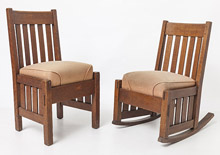Harden Chair & Rocker