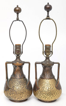 Pair of Clewell Table Lamps