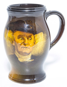 Rookwood Jos. Jefferson Tankard