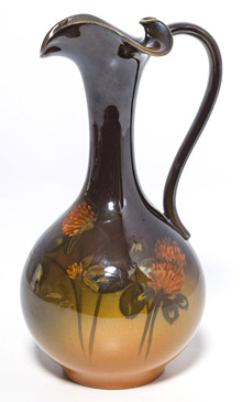 Rookwood Ewer by C.A. Baker