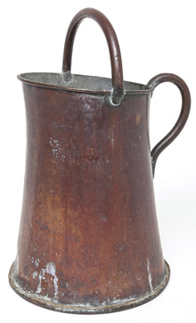 Arts & Crafts Copper Coal Bucket