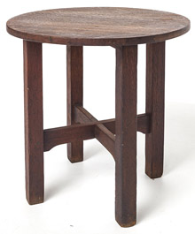 Gustav Stickley Tabouret #603