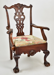 Chippendale Style Armchair