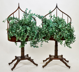 Pair Regency Style Plant Stands