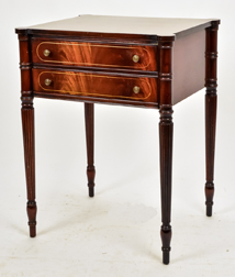 Sheraton Style Inlaid Stand by Brandt