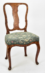Fine Marquetry Chair