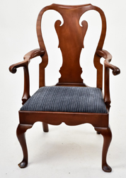 Kittinger Queen Anne Style Arm Chair