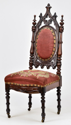 Child's Gothic Victorian Chair