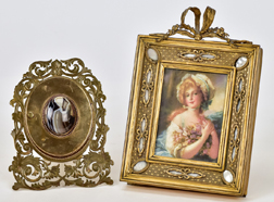 Two Outstanding Miniature Frames