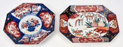 Two Pieces Imari Porcelain