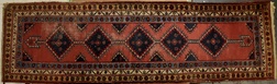 Semi-Antique Oriental Runner