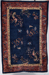 Semi- Antique Chinese Rug