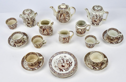Child's Staffordshire Tea Set