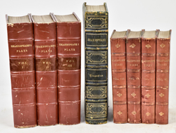 Sets of Leather Bound Books