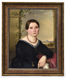 Lovely Victorian Oil Portrait