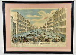 Wonderful 1884 Cincinnati Chromolithograph