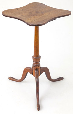 Period Queen Anne Candle stand