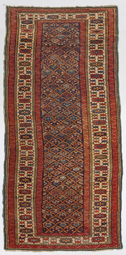 Semi-Antique Persian Oriental Runner