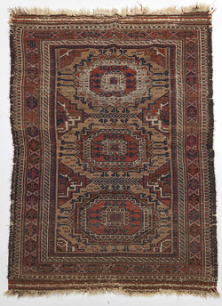 Antique Caucasian Oriental Rug