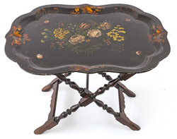 Large Japanned Tray